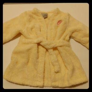 Babies Nike yellow bath robe 0/9M